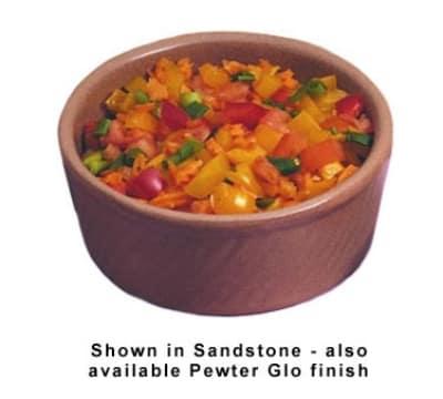 Bon Chef 3036P 20-oz Souffle Dish, Aluminum/Pewter-Glo