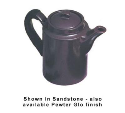 Bon Chef 4019P 24-oz Coffee Server w/ Insulated Handle, Aluminum/Pewter-Glo