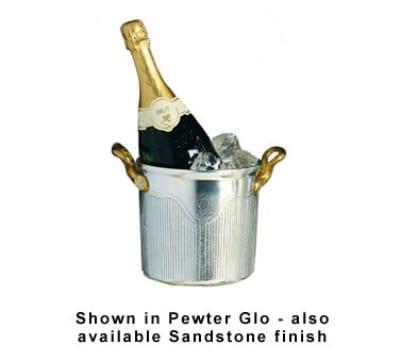 Bon Chef 4036S BLK 3.5-qt Champagne Ice Bucket, Aluminum/Black