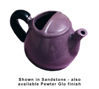 Bon Chef 4040S BLK 16-oz Teapot, Aluminum/Black
