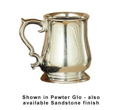 Bon Chef 4048P 16-oz Beer Mug, Aluminum/Pewter-Glo