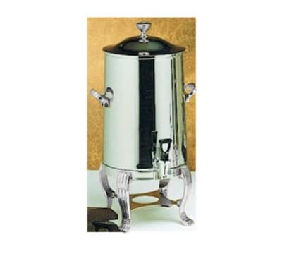 Bon Chef 41003C 3.5-Gallon Coffee Urn Server, Single Wall, Stainless/Chrome