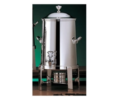 Bon Chef 42105C 5.5-Gallon Coffee Urn Server, Solid Fuel, Chrome