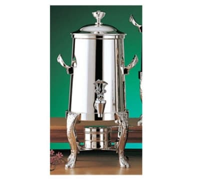 Bon Chef 47101C 2-Gallon Coffee Urn Server, Solid Fuel, Chrome, Renaissance