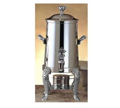 Bon Chef 48101C 2-Gallon Coffee Urn Server, Solid Fuel, Chrome, Lion