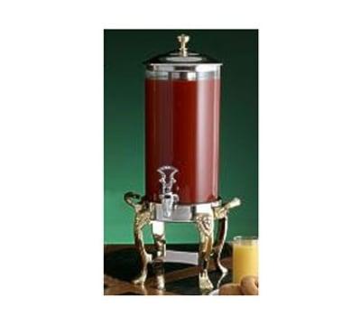 Bon Chef 48500CH 2-Gallon Juice Dispenser, Chrome, Lion