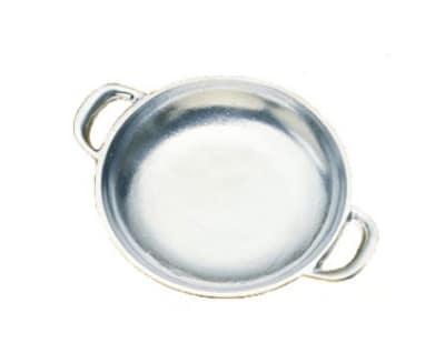 "Bon Chef 5000P 5.75"" Round Au Gratin Pan, Aluminum/Pewter-Glo"