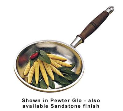 "Bon Chef 5006S WH 10"" Long Handle Omelet Pan, Aluminum/White"