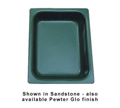 "Bon Chef 5065S BLK 1/2-Size Chafer Food Pan, 2.75"" Deep, Aluminum/Black"