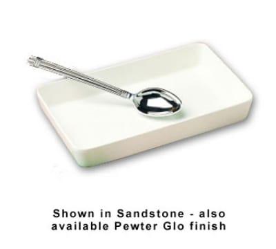 Bon Chef 5067P 3-qt Rectangular Casserole Dish, Aluminum/Pewter-Glo
