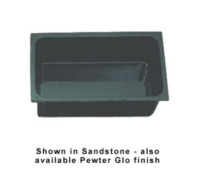 """Bon Chef 5072P Full Size Chafer Food Pan, 6"""" Deep, Aluminum/Pewter-Glo"""