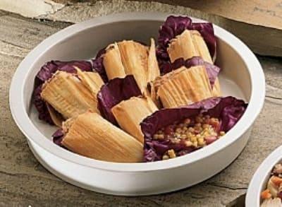 "Bon Chef 5073HLS BLK Round Chafer Food Pan, 15""., Long Handle, Aluminum/Black"