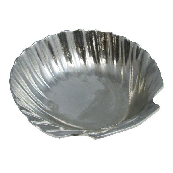 Bon Chef 5082P Deep Shell Small Bowl, 1 qt 8 oz, Aluminum/Pewter-Glo