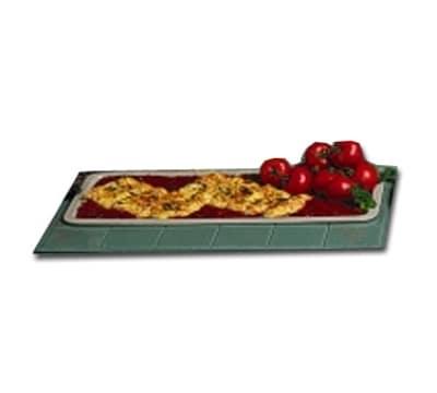"""Bon Chef 5101S BLK 25"""" Banquet Serving Platter, Aluminum/Black"""