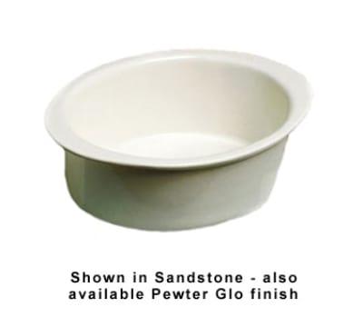 Bon Chef 5103P 2.75-qt Oval Pan, Aluminum/Pewter-Glo