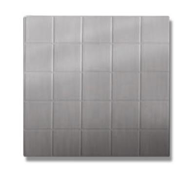 Bon Chef 52001P 1/2-Size Tile, Aluminum/Pewter-Glo
