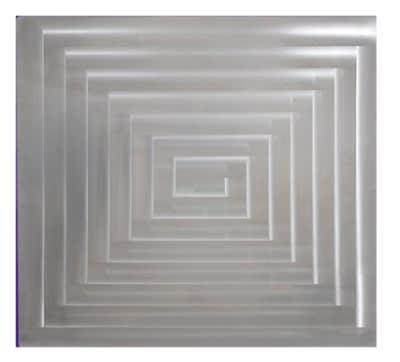 Bon Chef 52013P Custom Cut Tile For 6050, Aluminum/Pewter-Glo
