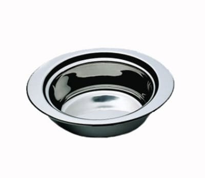 Bon Chef 5203 Full Oval Food Pan, 3-qt 24-oz, Vapor Lock Shoulder, Stainless