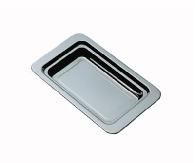 "Bon Chef 5206HR Food Pan, 2.25"" Deep, Round Handles, Stainless Steel"