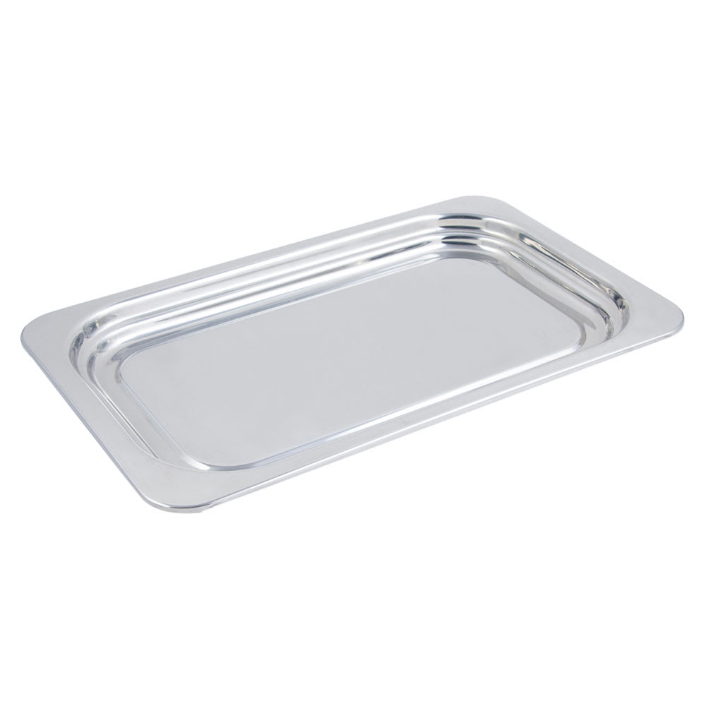 "Bon Chef 5207 Full Size Food Pan, 1.25"" Deep, Stainless"