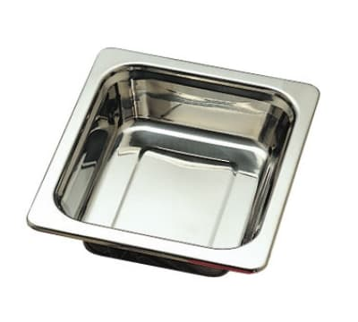 "Bon Chef 5209HRSS 1/2-Size Food Pan w/ Round Stainless Handles, 2.75"" Deep"