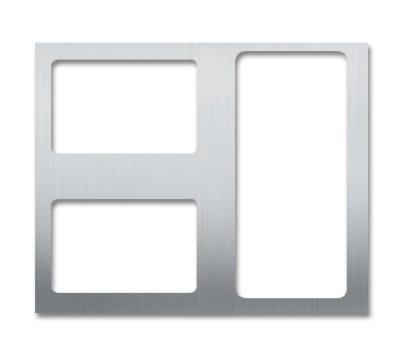 Bon Chef 52100 Custom Cut Tile For (2) 5220 & (1) 5223, Stainless