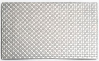 Bon Chef 52111 1.5- Size, Tile Inset, Circles, Stainless Steel