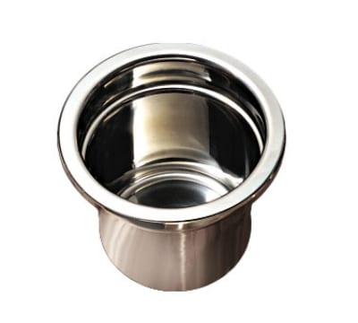 "Bon Chef 5211HR Soup Tureen w/ Round Handles, 8.25"" Deep, Stainless Steel"