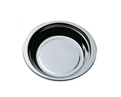 "Bon Chef 5256HRSS 4-qt Casserole Steamtable Dish, 4"" Deep, Round Stainless Handle"