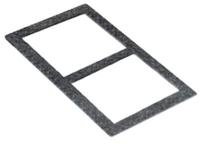 Bon Chef 53001 BLKGR Tile For (2) 53101, 53102 Or 53103, Black Granite