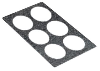 Bon Chef 53005 BLKGR Tile For (6) 53204, Black Granite