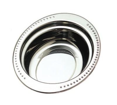 Bon Chef 5304HR 2-qt Full Oval Food Pan w/ Round Handle, Bolero, Stainless