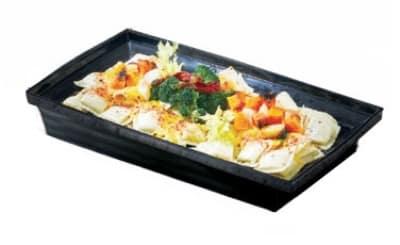 Bon Chef 53106 WH 3-qt Square Bowl, Melamine/White