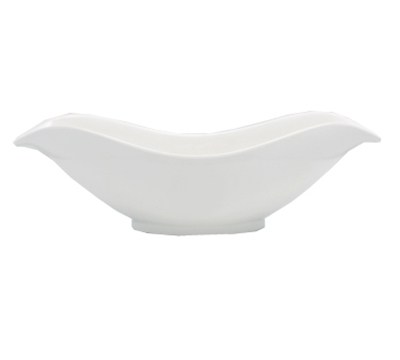Bon Chef 53603WHITE Petal Bowl - White