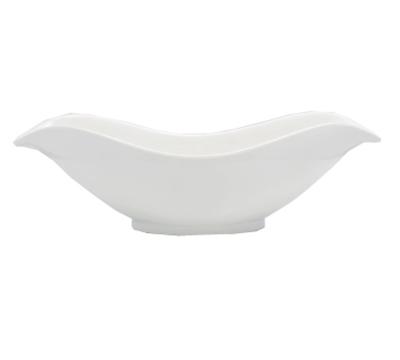 Bon Chef 53605WHITE Petal Bowl - White