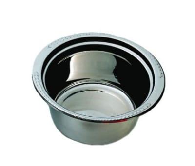 Bon Chef 5460HR 5-qt Casserole Steamtable Dish w/ Round Handle, Laurel, Stainless