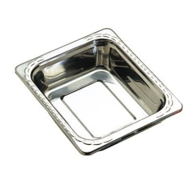 """Bon Chef 5609HR 1/2-Size Food Pan w/ Round Handle, 2.75"""" Deep, Stainless"""