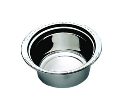 Bon Chef 5660HR 5-qt Casserole Steamtable Dish w/ Round Handle, Arches, Stainless