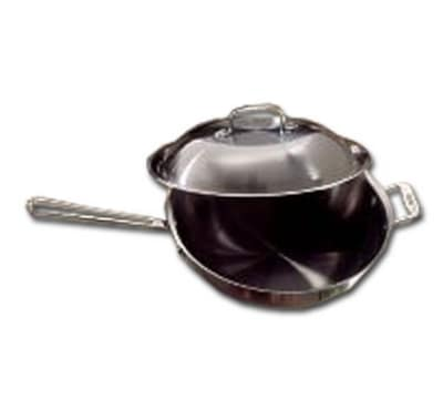 """Bon Chef 60008 12"""" Stainless Steel Frying Pan w/ Solid Metal Handle"""