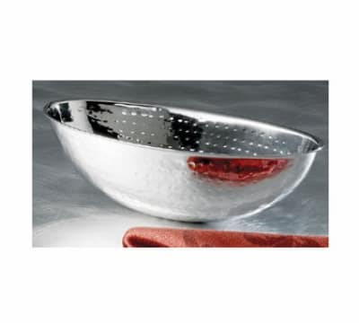 "Bon Chef 61214 9.2"" Nut Bowl, Stainless Steel w/ Hammered Finish"