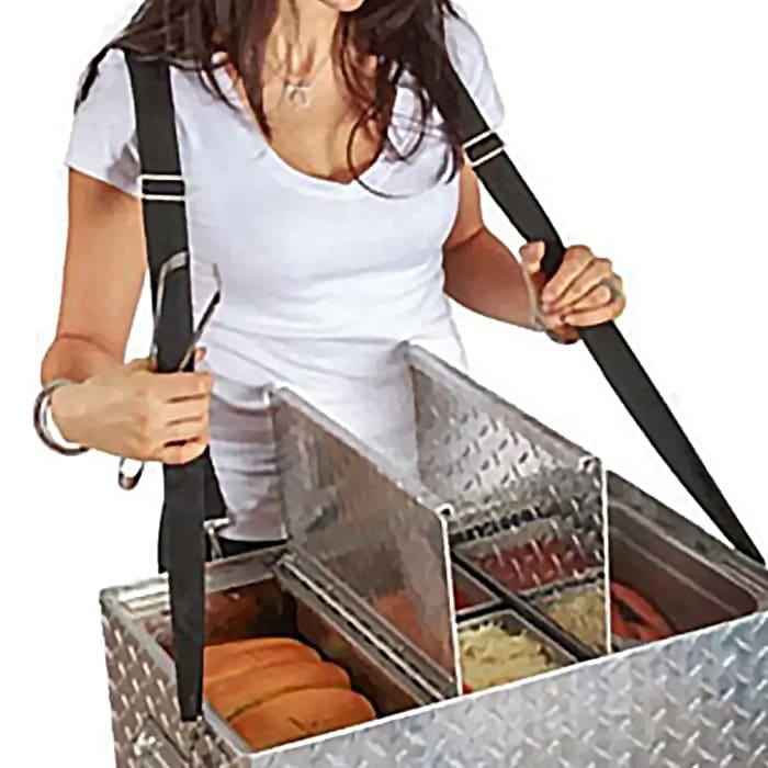 Bon Chef 61291 Adjustable Harness Strap for Hot Dog Hawker Server