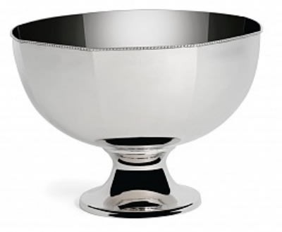 "Bon Chef 61322 14"" Punch Bowl w/ Pedestal, Stainless"