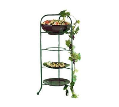 Bon Chef 7005S BLK Display Stand fits 2067, 9092 & 9097, Aluminum/Black