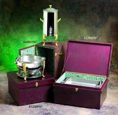 Bon Chef 840003W Wood Box For 3 & 3.5-Gallon Non-Insulated Urns