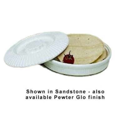 Bon Chef 9000S WH 24-oz Tortilla Bowl, Aluminum/White
