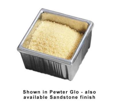 Bon Chef 9039S WH 6-oz Sugar Holder, Aluminum/White