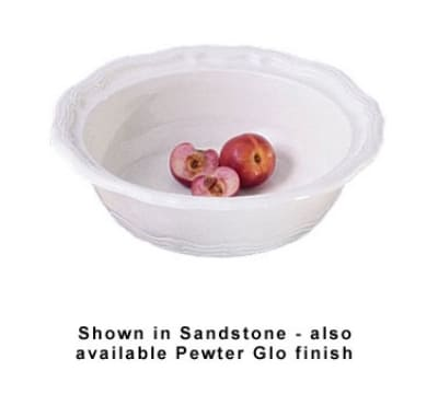 Bon Chef 9053P 6.5-qt Salad Bowl, Aluminum/Pewter-Glo