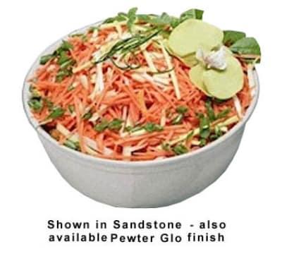 Bon Chef 9068S CGRN 5-qt Tulip Bowl, Aluminum/Calypso Green