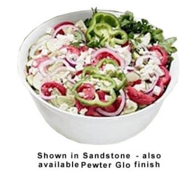 Bon Chef 9069S PLUM 6-qt Tulip Bowl, Aluminum/Plum