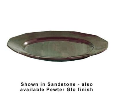 "Bon Chef 9097P 13"" Round Prism Tray, Aluminum/Pewter-Glo"